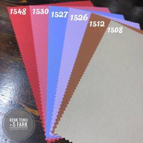 Stor Perde Kalın Mat Polyester Lazer Etek Kesim 15 Farklı Desen