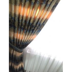 Fon Perde Gate Desen Renk Geçişli Gökkuşağı Fon