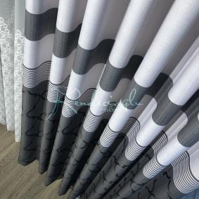 Fon Perde Gofrelli Panel Fon 2 Farklı Renk Seçeneği