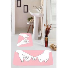 Kozzy Home  Dijital Baskılı 2'li Banyo Paspası RFE9533