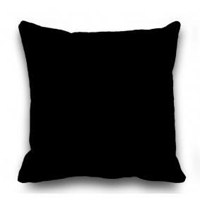Kozzy Home  RFE341  Dekoratif Kırlent Kılıfı  45x45 cm - Siyah